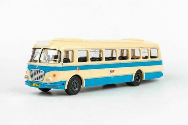 Abrex 143PB003 1/43 Skoda 706 RTO Bus Autobus Rto Csad 1961 Cream Blue